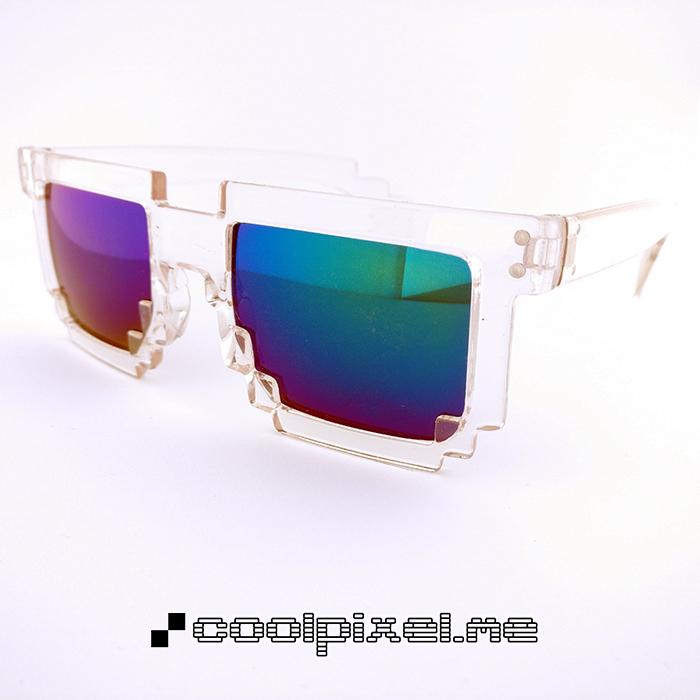 MODEL 020 – STEL blank, gennemsigtig – LINSE multifarvet, grøn blå lilla, spejl – STR 14,5 – PRIS 200 – 700 x 700 px – photo light box w LOGO