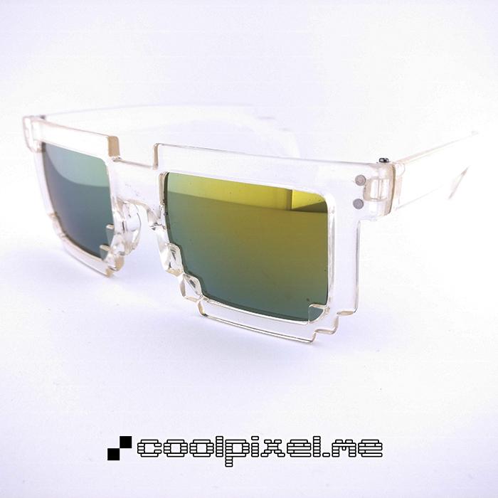 MODEL 021 – STEL blank, gennemsigtig – LINSE multifarvet, guld, spejl – STR 14,5 – PRIS 200 – 700 x 700 px – photo light box w LOGO