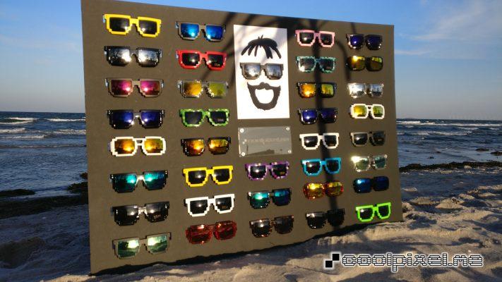 CoolPixel.me pixelerede minecraft 8bit solbriller
