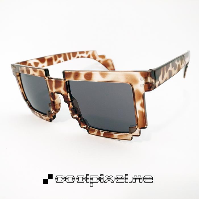 MODEL 003 – STEL mønstret, brun, leopard, blank – LINSE normal